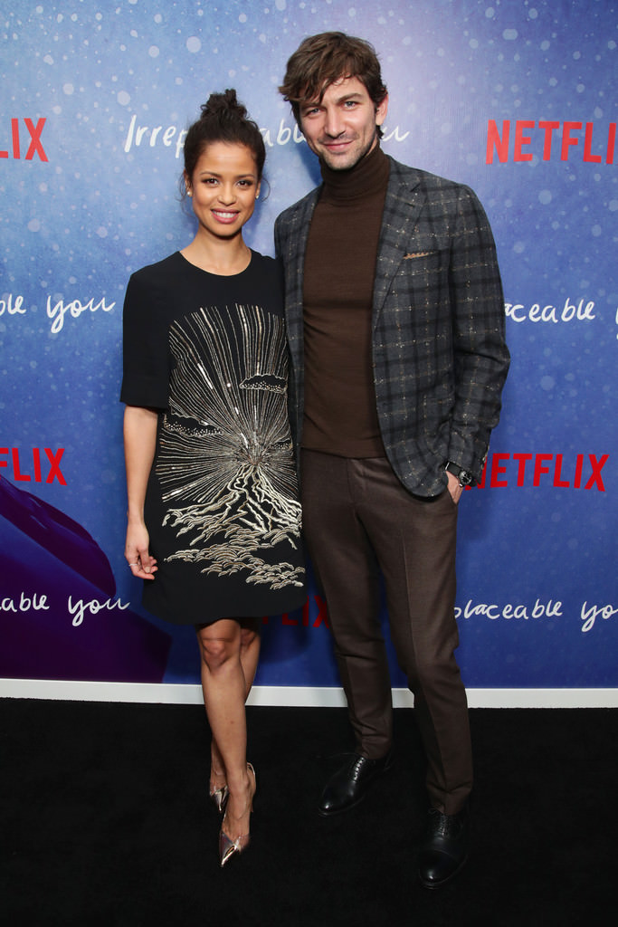 Gugu Mbatha-Raw and Michiel Huisman at Netflix's