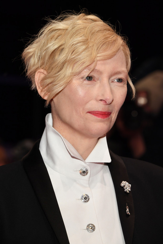 Tilda Swinton Flawless In Chanel At The 2018 Berlinale