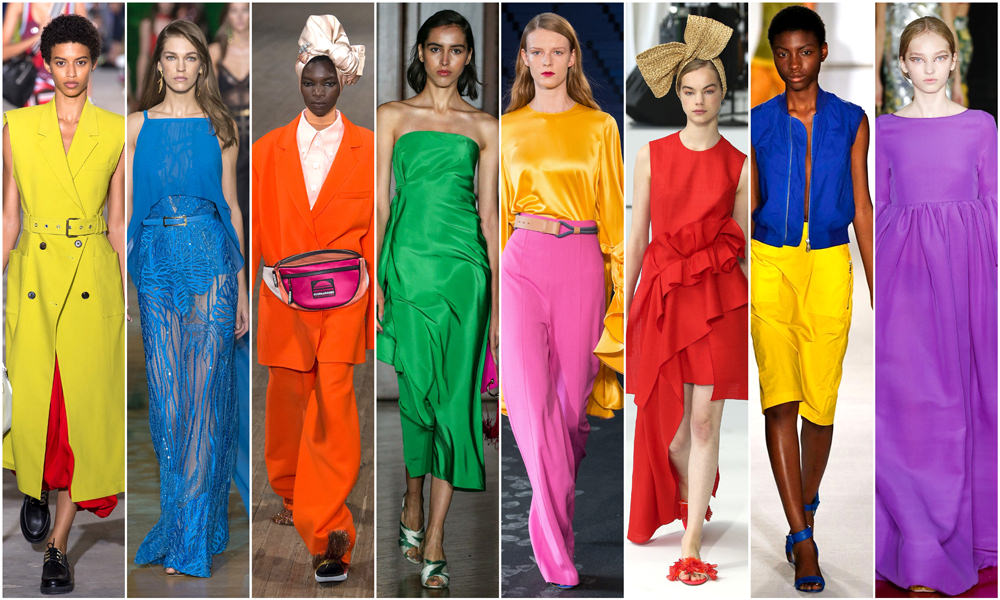 Translating The Trends For Spring 2018 A Whole Crayola Box Of Colors Tom Lorenzo