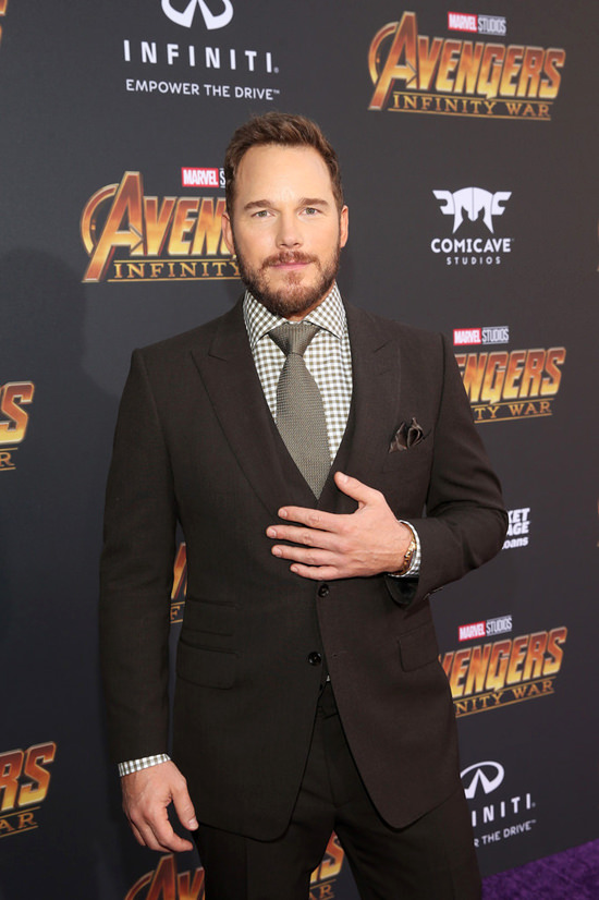 275a24c746db68 Chris Pratt in Tom Ford at the