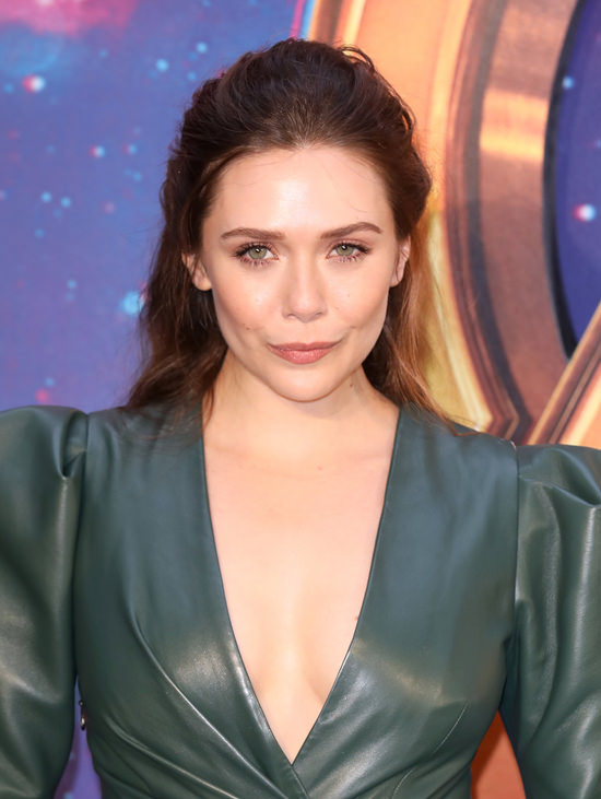 Elizabeth Olsen Dresses Like A Hero At The Quot Avengers