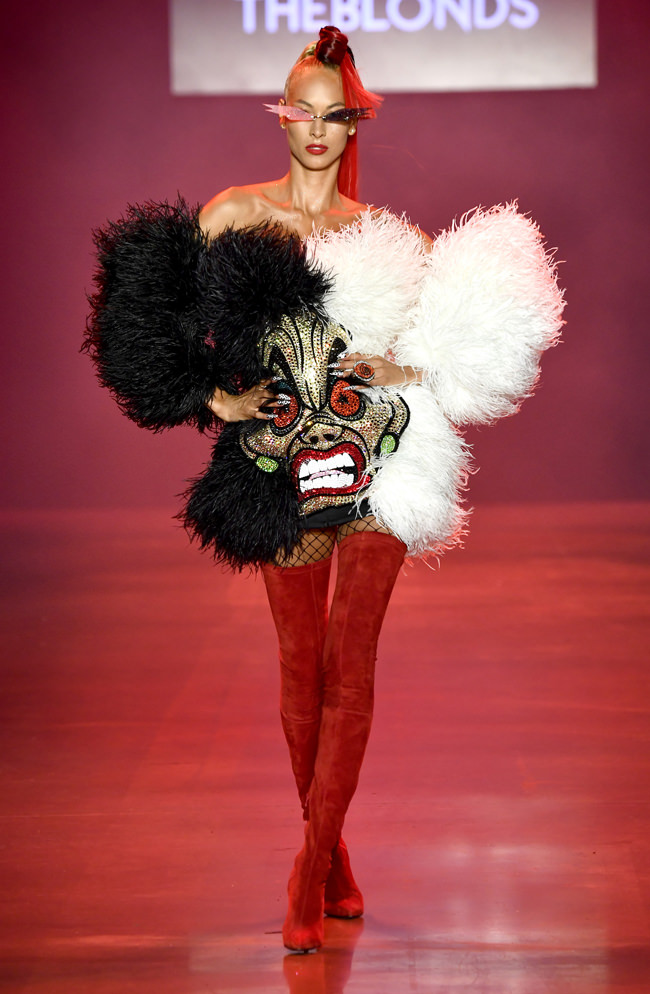 New York Fashion Week Disney Villains X The Blonds Spring