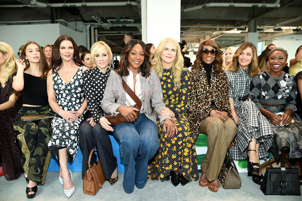 e8fc1c75fdd6 New York Fashion Week  The Michael Kors Show Front Row Was a Bunch ...