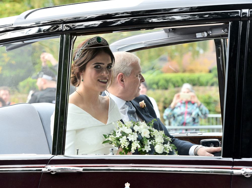 Official wedding photos of Princess Eugenie and Jack Brooksbank released