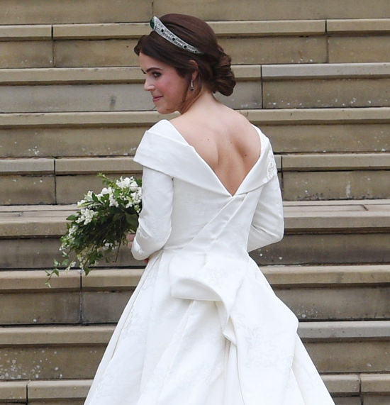 Official royal wedding photos capture intimate moment between Princess Eugenie and groom