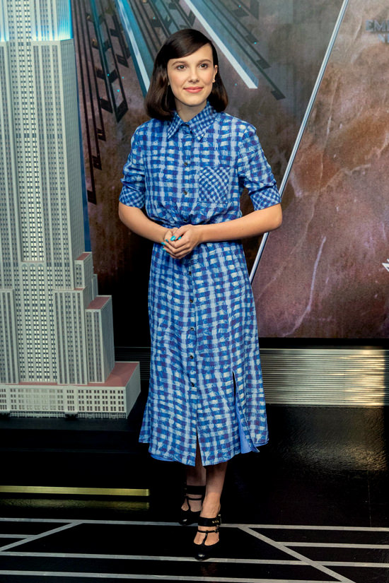 Style File Millie Bobby Brown Is Named Unicef Goodwill