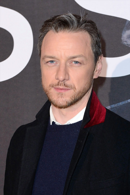"Take a Moment with James McAvoy at the ""Glass"" Paris ..."
