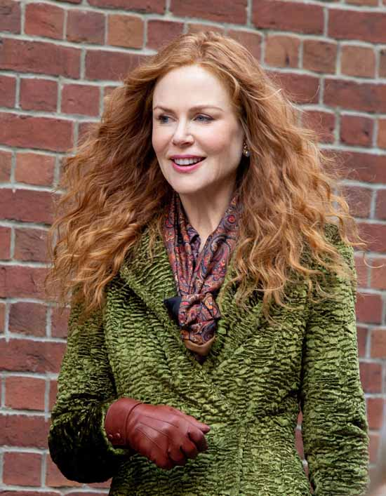 Nicole Kidman Has an Amazing Hair Day on the Set of HBO's ...
