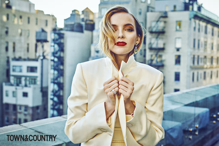 Quot Killing Eve Quot Star Jodie Comer For Town Amp Country Magazine