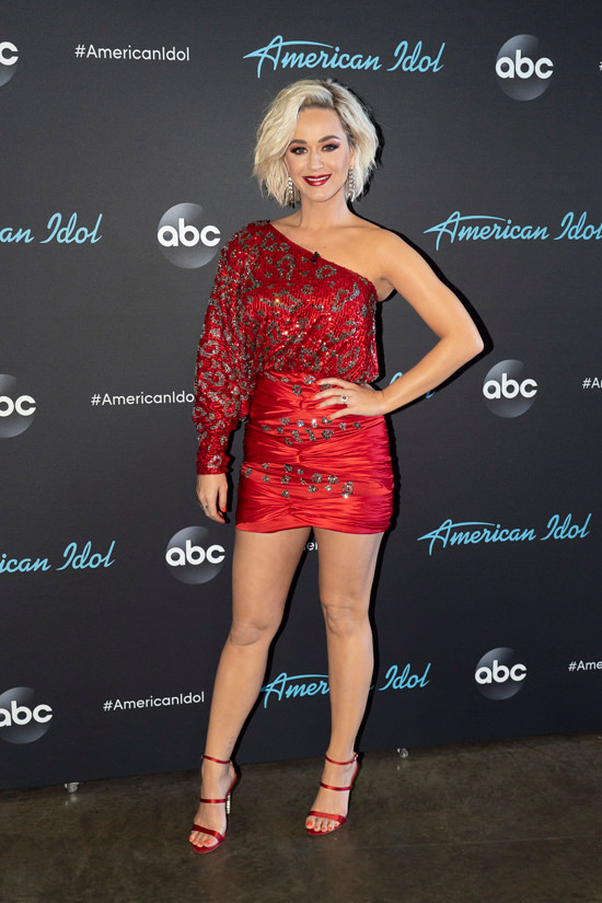 """Style File: Katy Perry in Redemption and Emilio Pucci at """"American ..."""