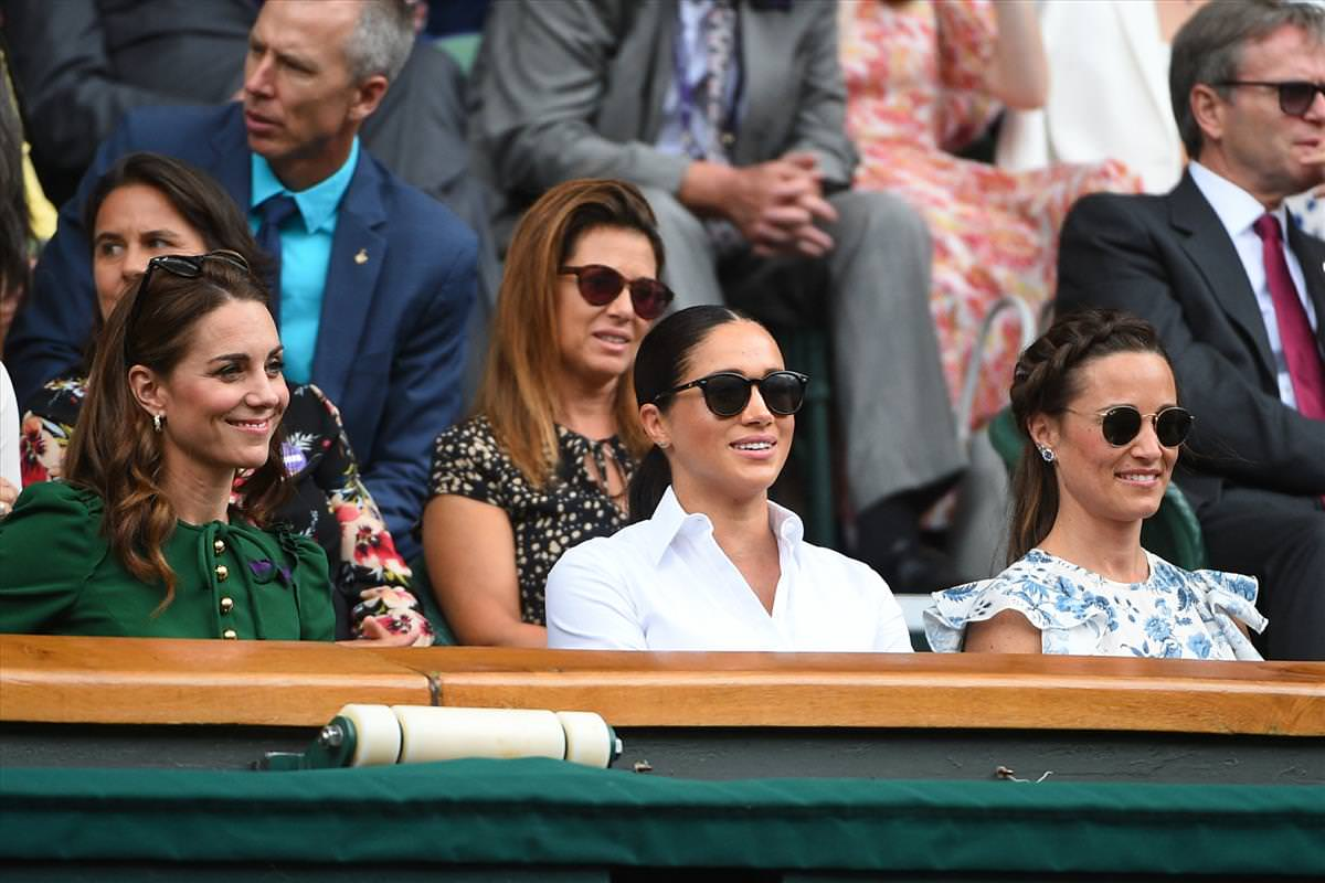 The Duchess Of Cambridge Duchess Of Sussex And Pippa