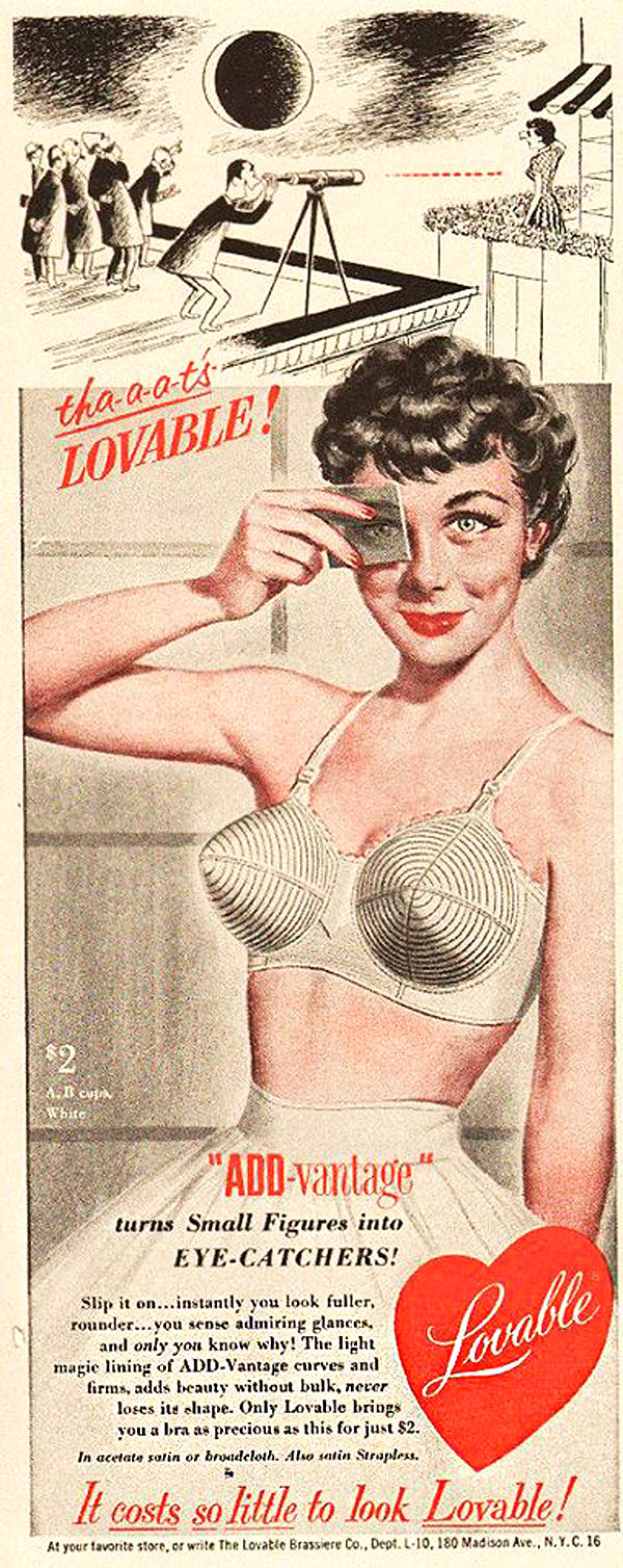 Vintage 40s and 50s Lingerie Ads | Tom + Lorenzo