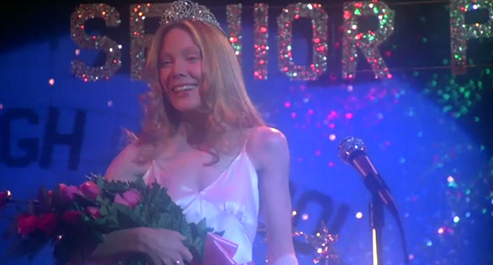 """One Iconic Look: Sissy Spacek's Pink Prom Gown in """"Carrie"""" (1976)   Tom + Lorenzo"""